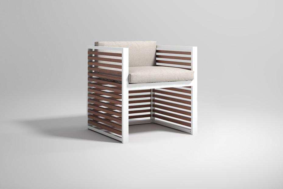 DNA Teak armchair