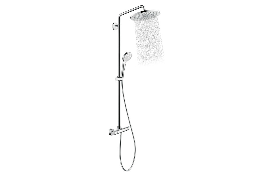 Croma 280 Select showerpipe mixer
