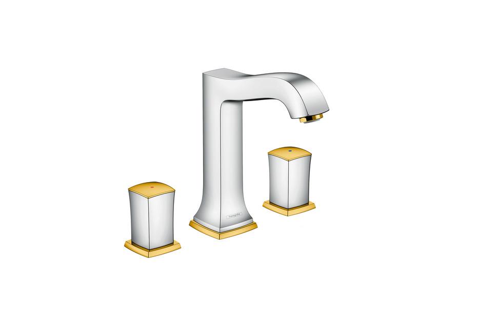 Metropol Classic 3-hole washbasin zero high