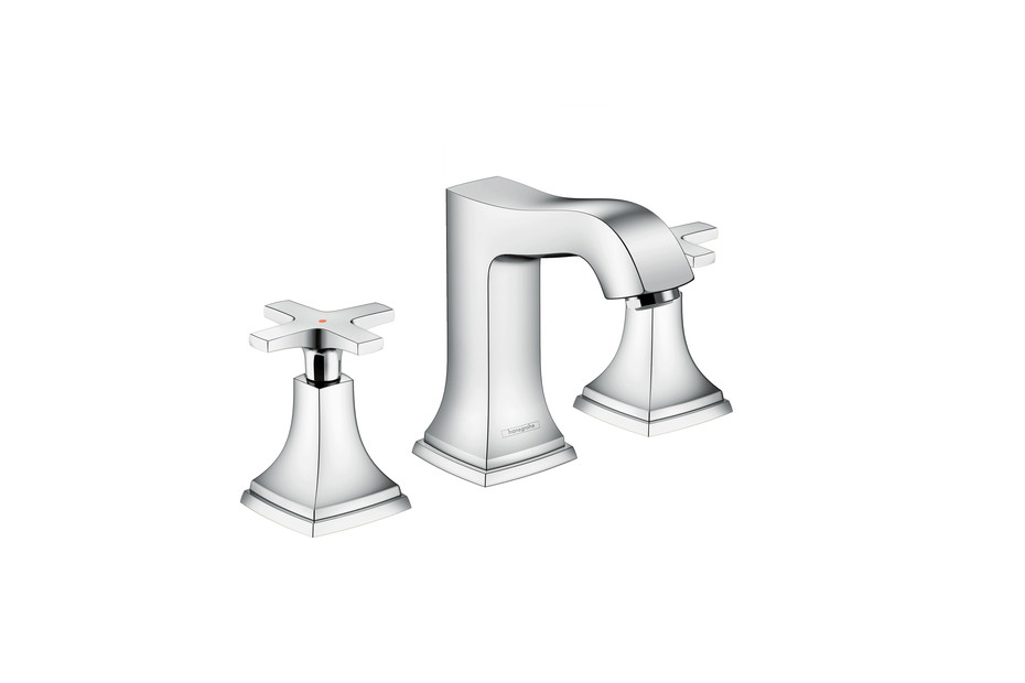 Metropol Classic 3-hole washbasin cross