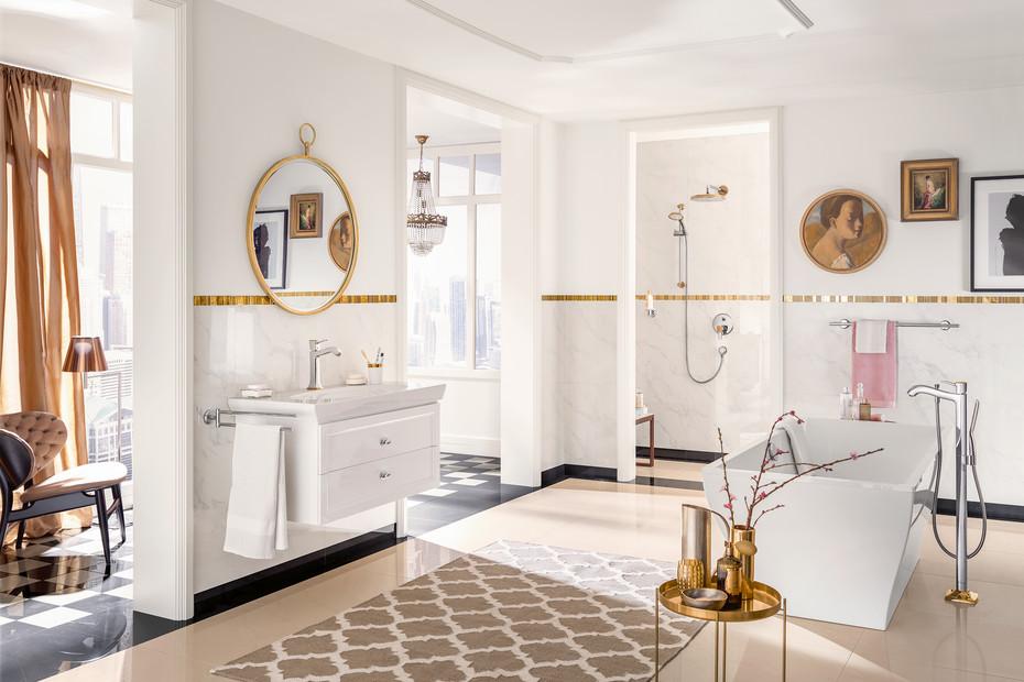 Metropol Classic bath filler free standing