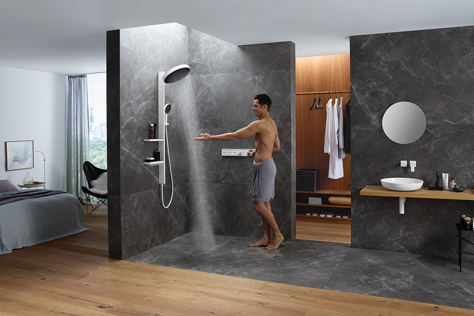 Rainfinity overhead shower