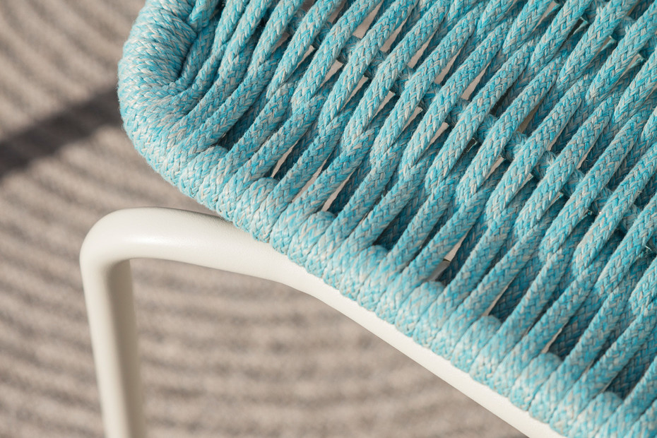 Lapala hand-woven footstool C590T