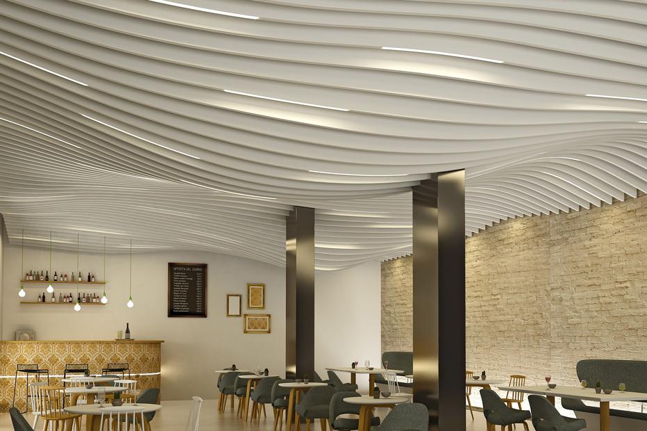 LMD-L LAOLA Baffle ceiling
