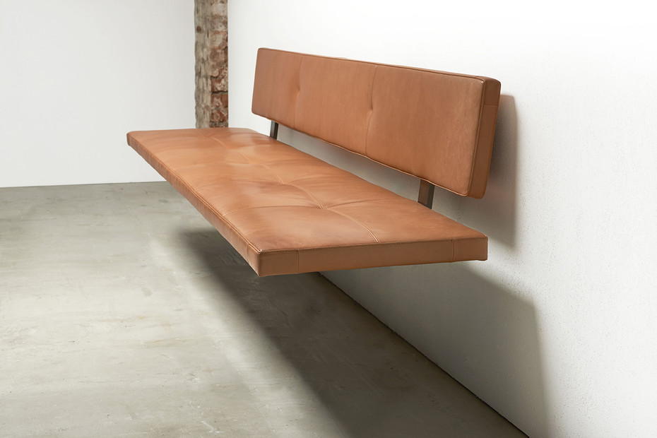 LAX upholstered bench