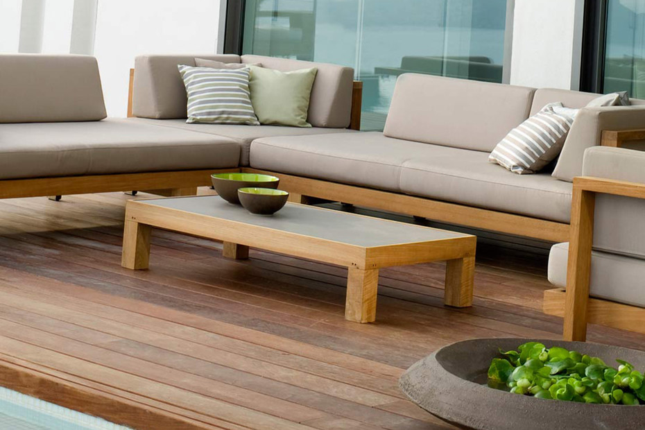 Pure coffee table rectangular