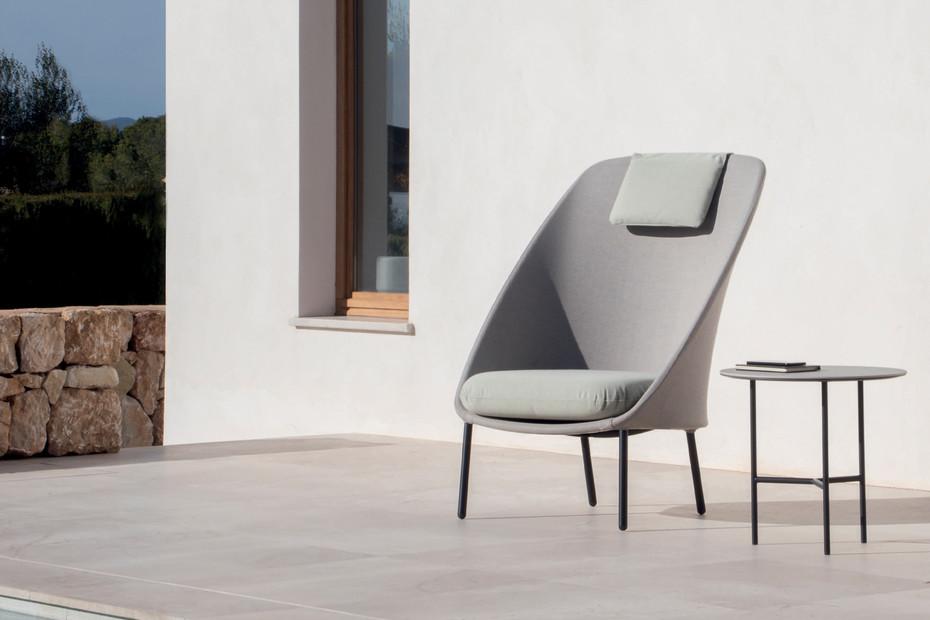Twins Sessel mit hoher Rückenlehne C171