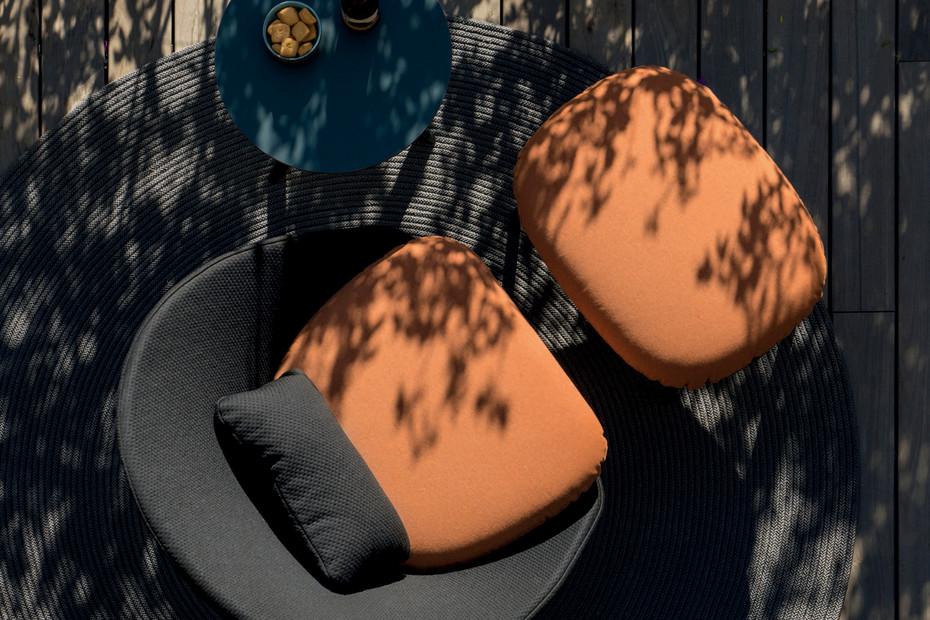Twins footstool C176