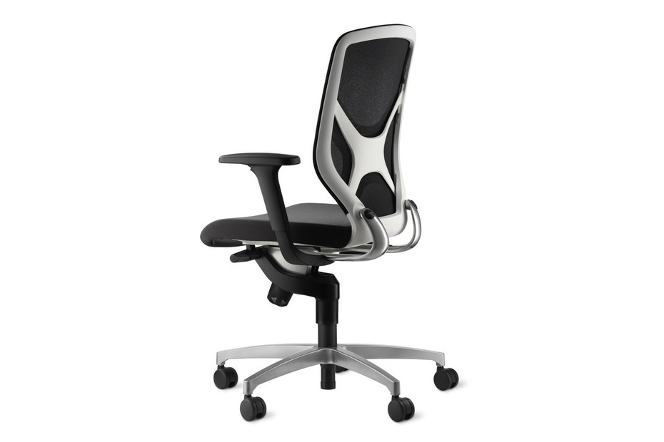 IN 3D swivel chair white back element