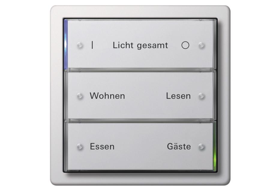 F100 sensoric button 3, 3fold