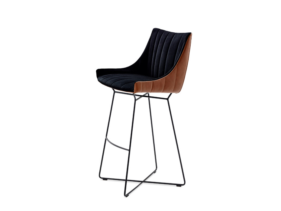 Rubie Bar Armchair Low mit Drahtgestell