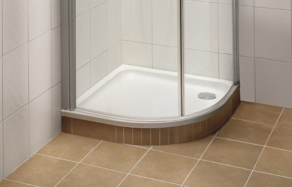 Shower tray quadrant O.novo