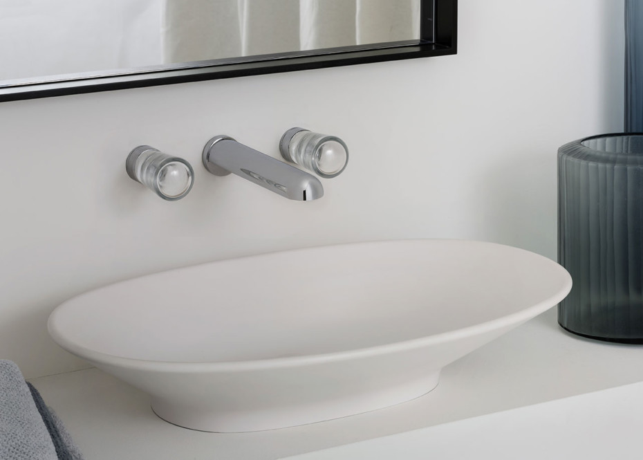 Nude built-in basin mixer