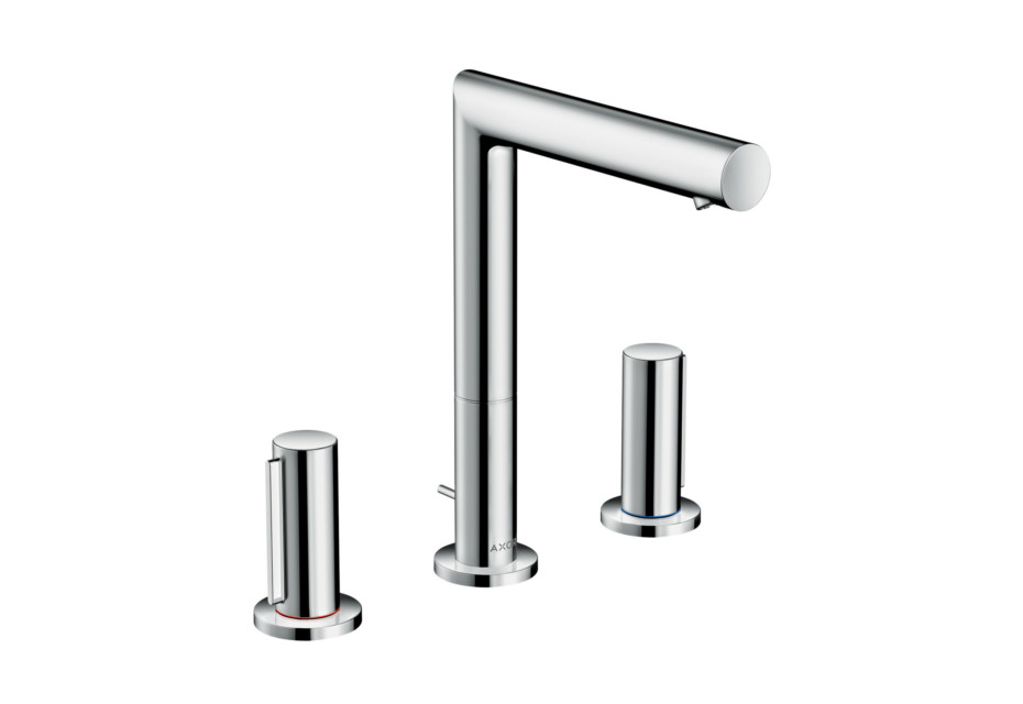 Axor Uno 3-hole basin mixer 200 zero handle with pop-up waste
