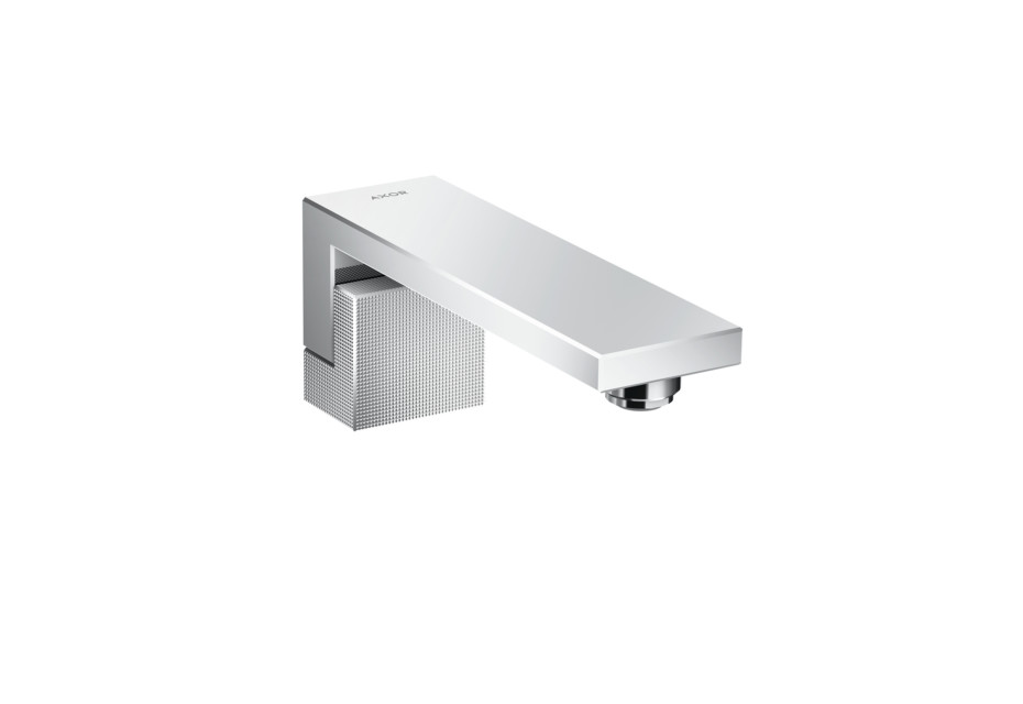 Axor Edge Bath spout - diamond cut