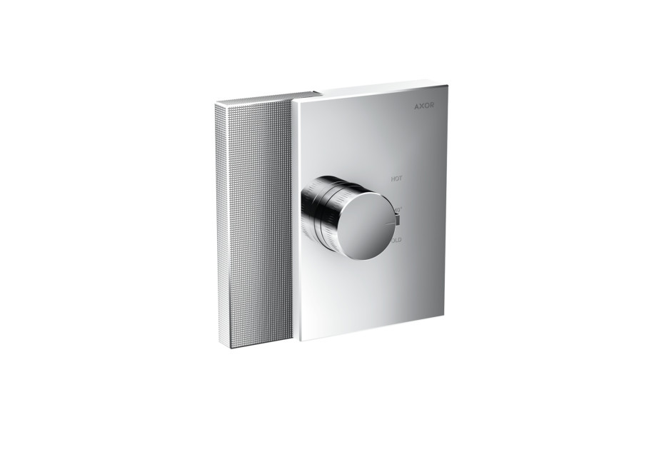 Axor Edge Thermostat highflow for concealed installation - diamond cut