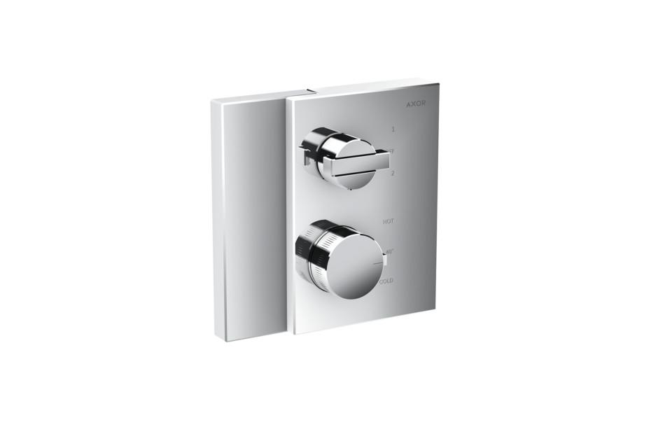 Axor Edge Thermostat mit Ab- und Umstellventil Unterputz