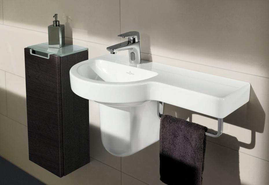 Évier céramique mur lavabo lavabo céramique klein ovale ebay