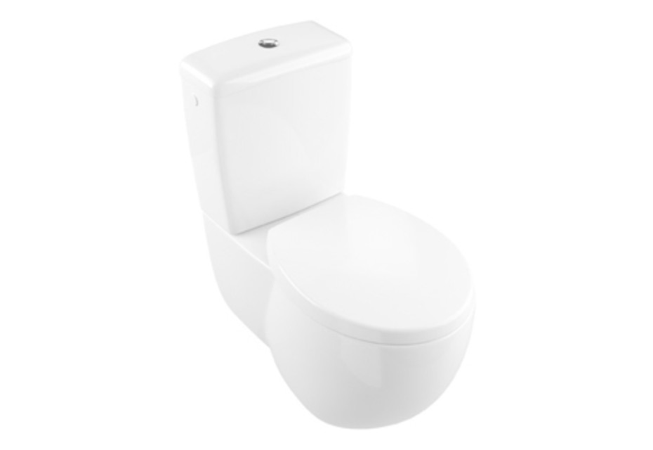 Washdown WC for close-coupled WC-suite Aveo New Generation