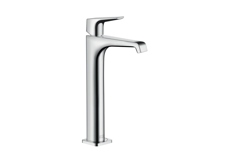 Axor Citterio E single lever basin mixer 250 with lever handle without pull-rod for wash bowls