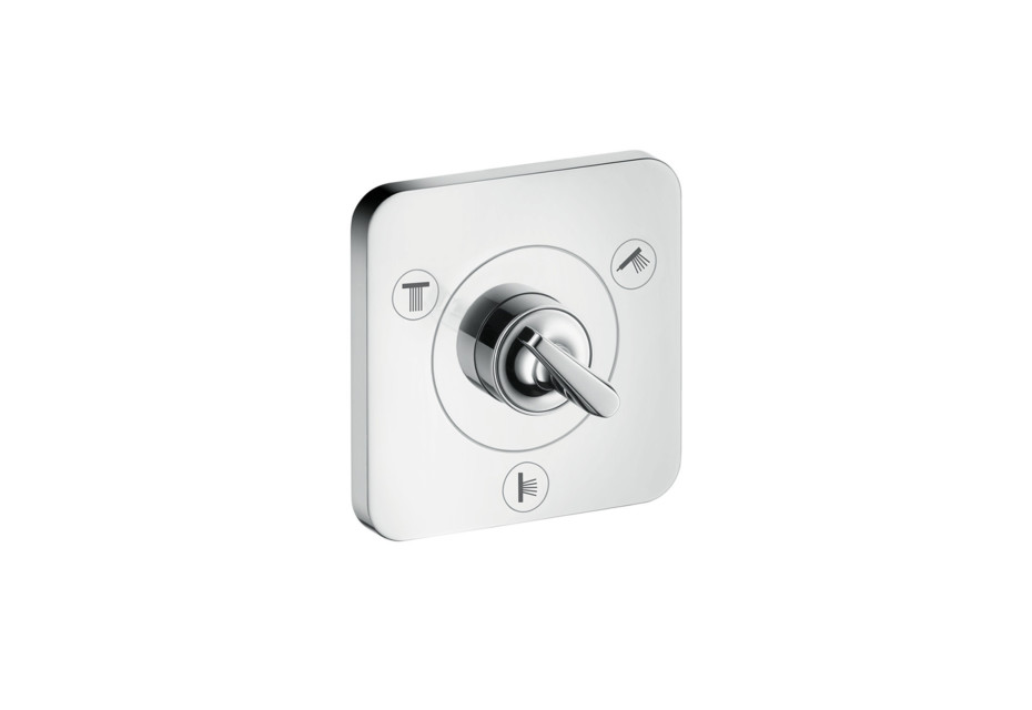 Axor Citterio E Trio/ Quattro shut-off/ diverter valve 120/120 for concealed installation