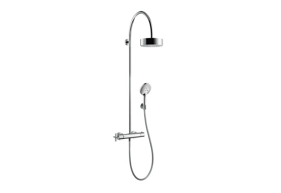 Axor Citterio Showerpipe mit Thermostat und 1jet Kopfbrause