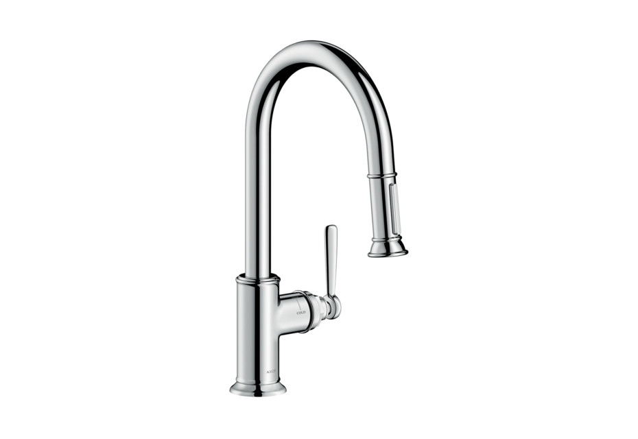 Axor Montreux Single lever kitchen mixer with pull-out spray