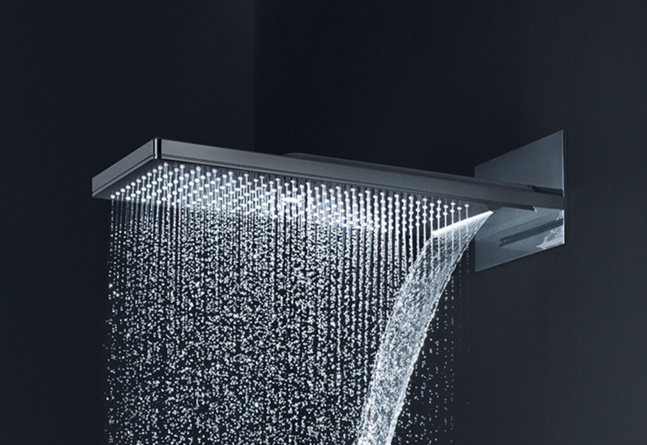 Gentil Axor Overhead Shower 250 / 580 3jet With Shower Arm