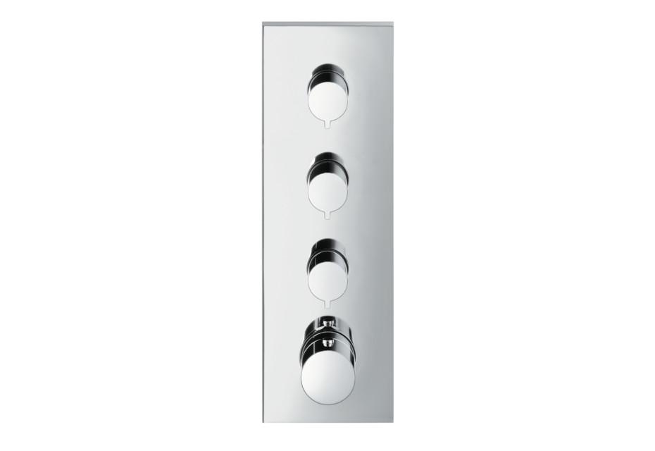 Axor ShowerCollection Thermostatmodul 360/120 Square, Unterputz