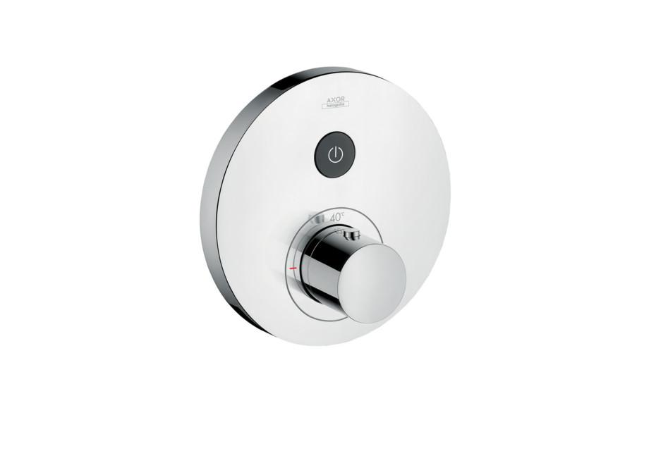 Axor Thermostat Round, für 1 Verbraucher, Unterputz