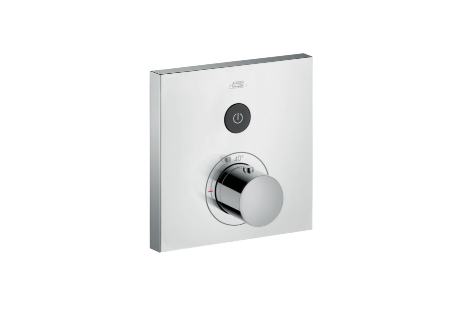 Axor thermostatic mixer Square for 1 outlet for concealed installation