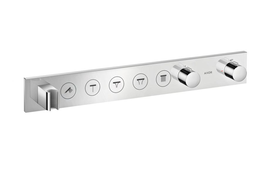 Axor Thermostatic module Select 670/90 for 5 functions for concealed installation