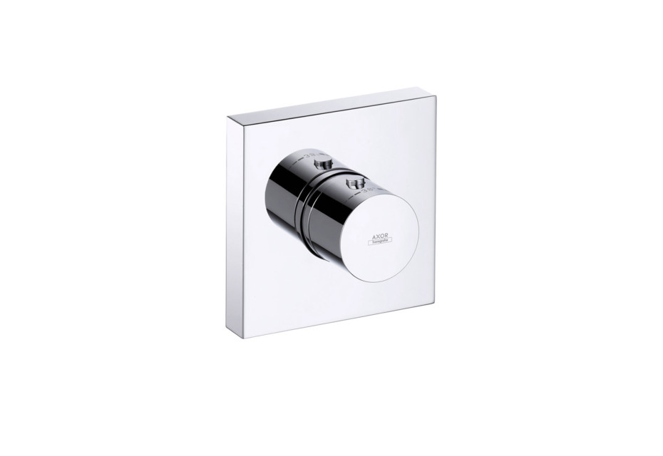 Axor ShowerCollection Trio/ Quattro shut-off/ diverter valve 120/120 Square for concealed installation