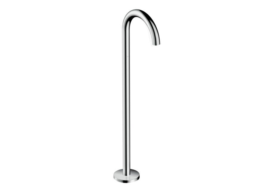 Axor Uno Bath Spout floor-standing, bent