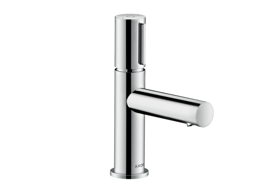 Axor Uno Select Single Lever Basin Mixer 110 with pull-rod