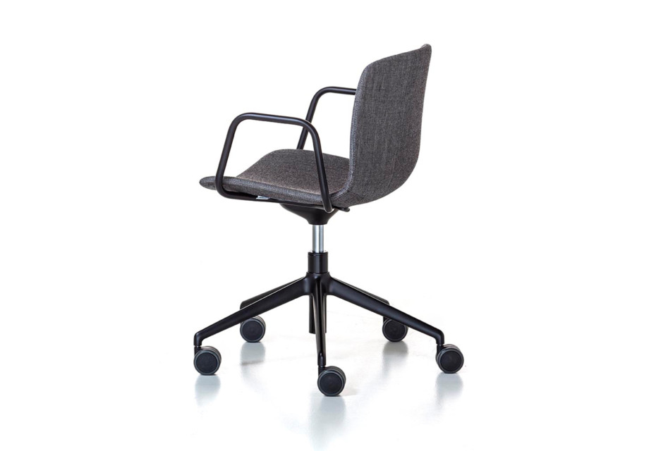 Alfa Office 5 star-base with armrest