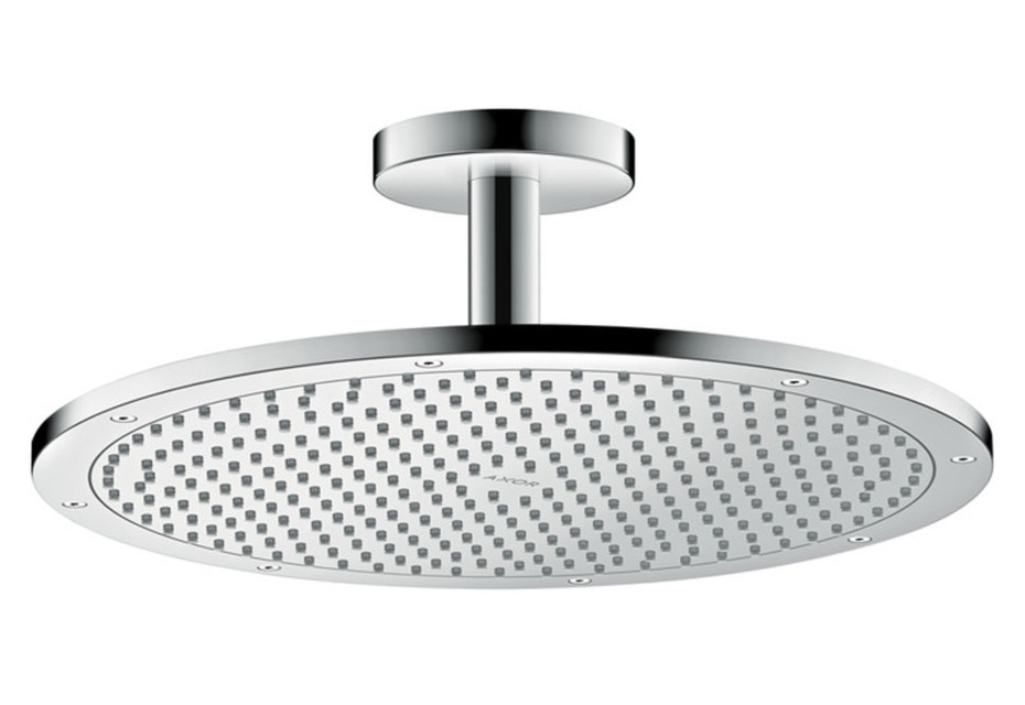 Axor overhead shower 350 1jet with ceiling connector by Axor ...