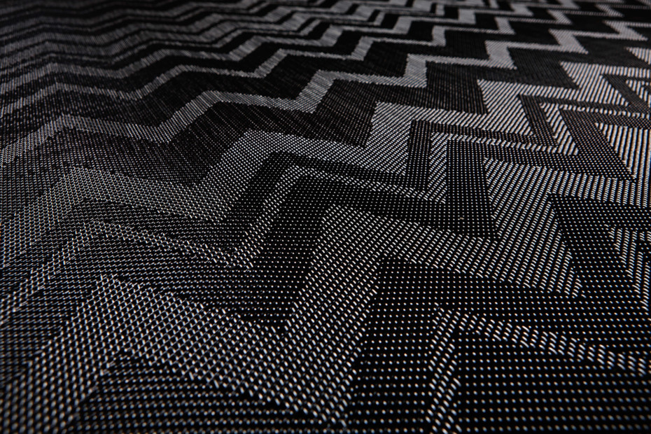 Bolon By Missoni Zigzag Black