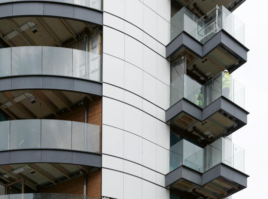 concrete skin & formparts, St. Marks Square