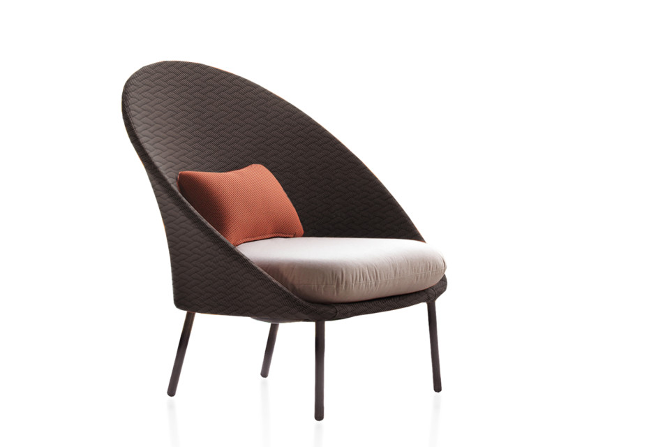 Twins Low armchair Tricot C170T