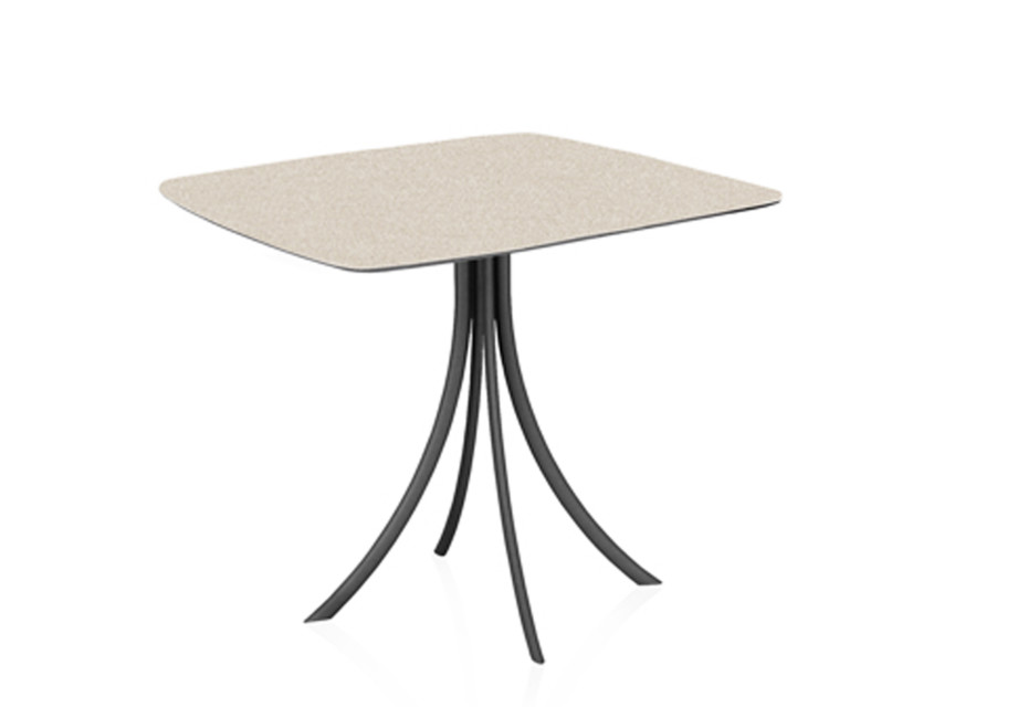 Bistro Outdoor dining table stand with elliptical top C904 E