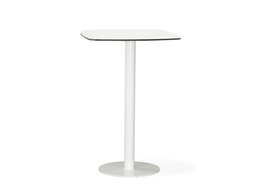 Flamingo Outdoor high dining table stand with elliptical top C972 E