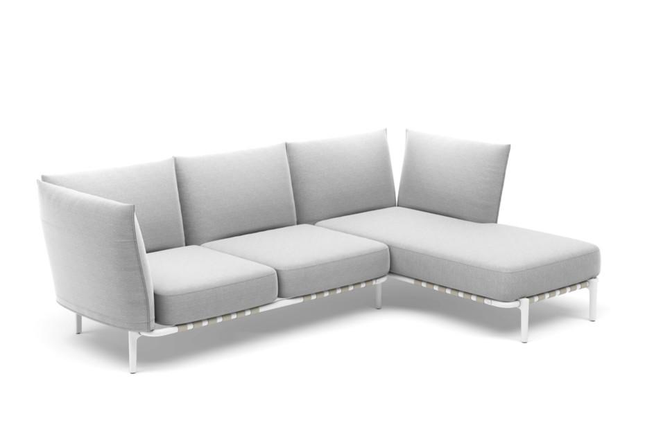 BREA 3er-Sofa, Daybed links