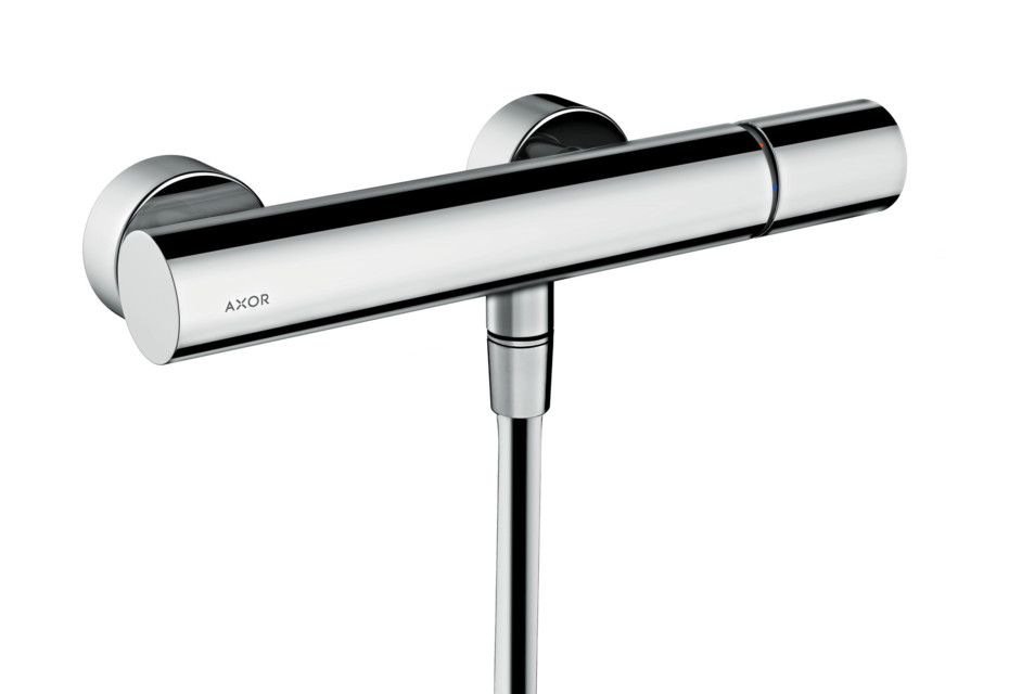 Axor Uno Single lever shower mixer for exposed installation, zero handle