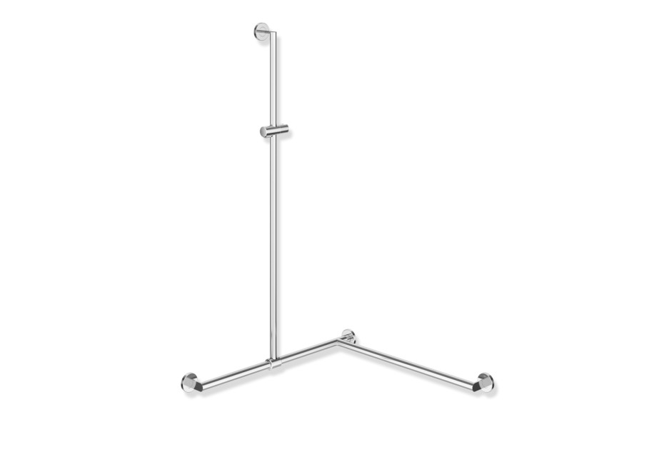Shower grab rail chrome