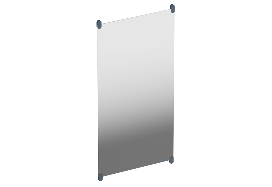 Plate glass mirror
