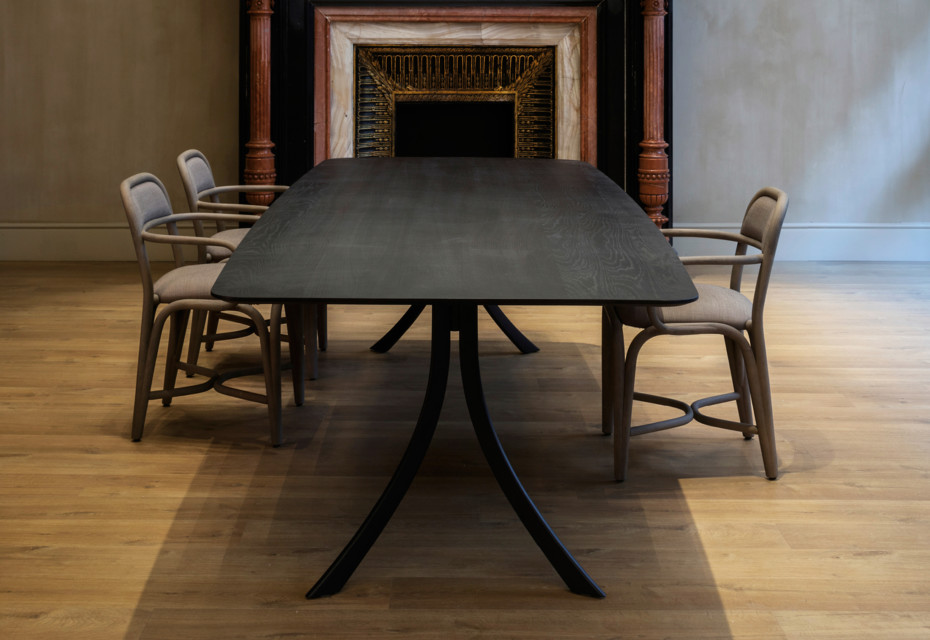 Falcata Indoor rectangular dining table T920