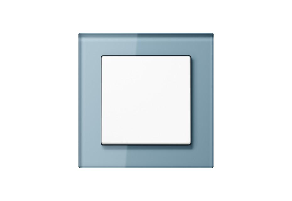 A Creation Glas Schalter in blaugrau