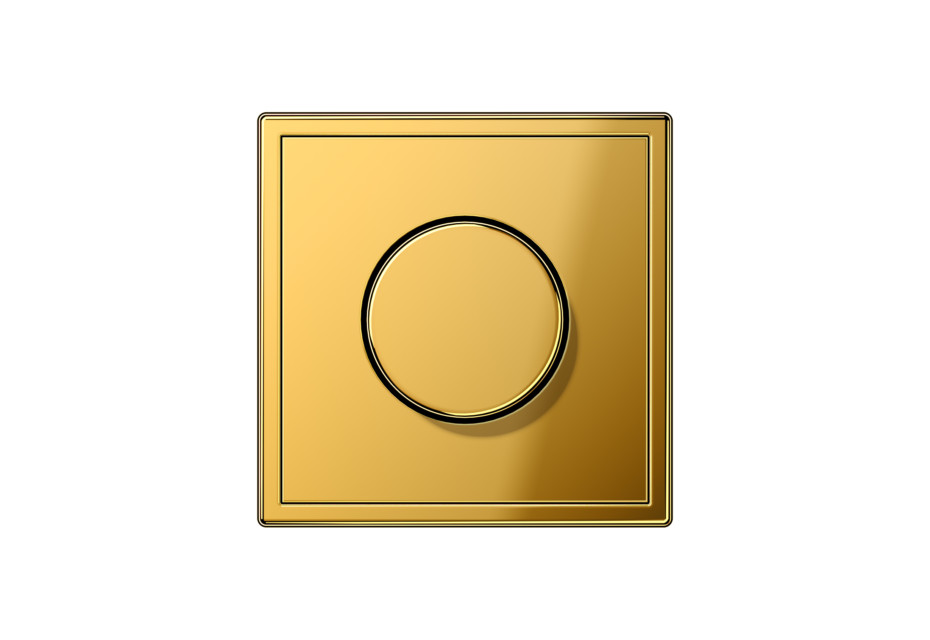 LS 990 Rotary Dimmer in gold