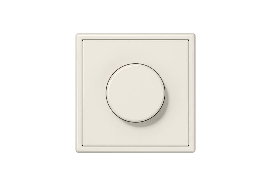LS 990 Rotary Dimmer in ivory